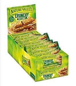 Nature valley honey and oat bars pack of 18 - £3.60 Prime (£8.09 non Prime) @ Amazon
