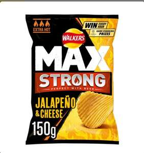 Walkers Max (Various flavours) £1 @ Tesco (Min basket £40 + up to £4 delivery)