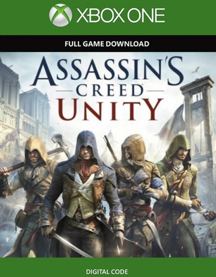 Assassin's Creed Unity Xbox One - Digital Code - £1.99 at CDKeys