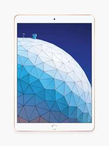 "2019 Apple iPad Air 10.5"", A12 Bionic, iOS, Wi-Fi, 256GB, Gold - £566.99 delivered @ John Lewis & Partners"