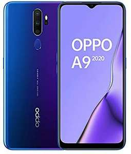 OPPO A9 2020 Smartphone 4GB + 128GB Space Purple 5000mAh 18W Fast Charge - £167.39 / £162 w/fee free card @ Amazon Italy