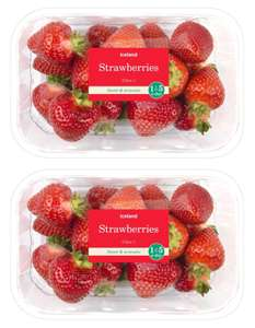 Iceland Strawberries 400g - 2 packs (800g) for £3 (Min Basket Value Applies +£2 Overall delivery)