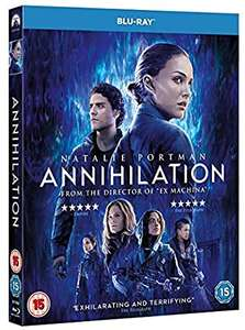 Annihilation (Blu-ray) [2018] [Region Free] £4 @ Amazon (+£2.99 non-prime)