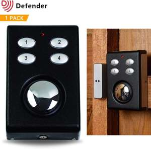 Defender Wireless Shed Alarm £15.95 - Dispatched from and sold by Solon Security on amazon