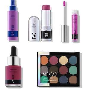 Up to 80% Off Skincare & Make Up Sale - prices from just £1.50 @ Nip+ Fab (+£4.95 P&P / Free on £25)