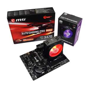 Ryzen 5 3600 / MSI X470 Gaming Pro Max + Free CM Hyper 212 RGB Cooler £299 / £369.98 With 16GB 3200Mhz RAM / Swap For 3600x +£20 @ AWD-IT