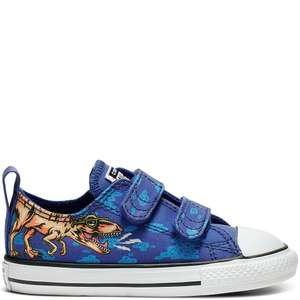 Kids Converse Chuck Taylor All Star Dino's Beach Party Hook and Loop Low Top £20.49 delivered @ Converse Shop