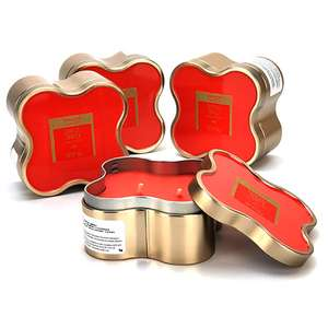 4x 184g Yankee Tropical Jungle Clover Tin Twin Wick Candles / Approx 25 Burn Time Each - £12 Delivered @ Yankee Bundles