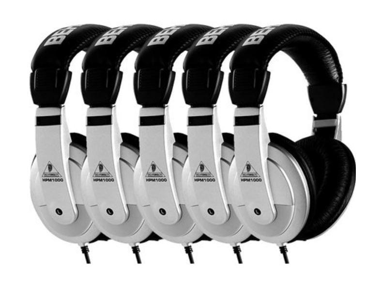 Behringer HPM1000 headphone 5 pack £43 + £4.49 del at Studio Spares