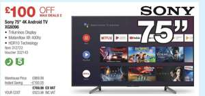 """Sony KD-75 XG8096 