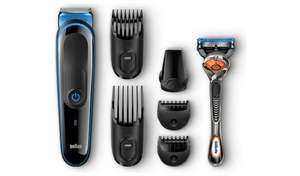 Braun 7in1 Beard Trimmer and Hair Clipper & Gillette Fusion5 ProGlide razor £24.99 + £3.95 del @ Argos