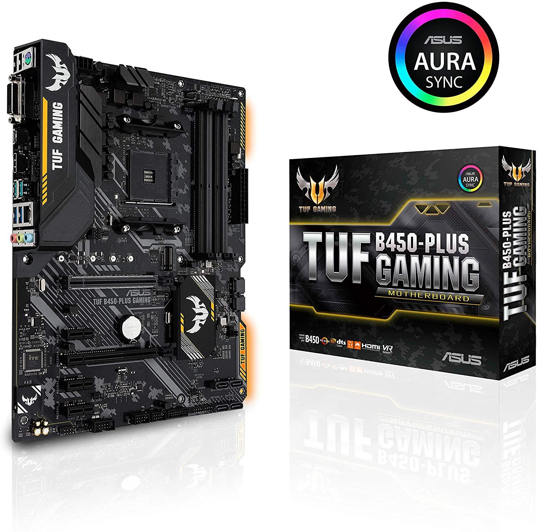ASUS TUF Gaming B450-PLUS ATX Motherboard £89.99 @Amazon