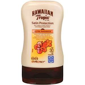 Hawaiian Tropic Satin Protection SPF 15 White, 100ml £2.99 (Prime) + £4.49 (non Prime) at Amazon