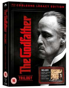 The Godfather Trilogy - Deluxe Corleone legacy Edition [Blu-ray] £19.99 delivered at Zoom