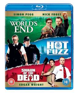 `Cornetto Trilogy' : Shaun of the Dead/Hot Fuzz/The World's End [Blu-ray Boxset] £7.99 delivered @ Zoom