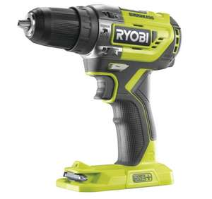Ryobi one+ r18pd5-0 18v 50nm cordless brushless percussion drill (body only) £67.19 delivered @ SGS engineering