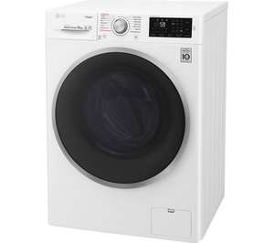 LG F4J610WS NFC 10 kg 1400 Spin Washing Machine - White / Graphite with 5 year warranty £404.10 with code @ Currys