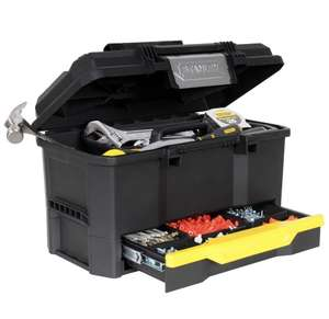 Stanley Toolbox - 170316 19-inch 1-Touch Toolbox with Drawer £25.45 delivered @ Zoro