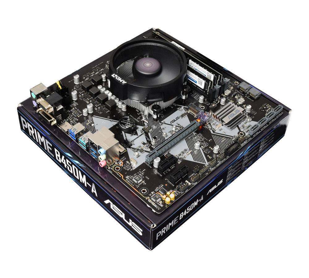 Ryzen 3 3300X / Asus B450M-A Motherboard Bundle £184.99 @ AWDIT