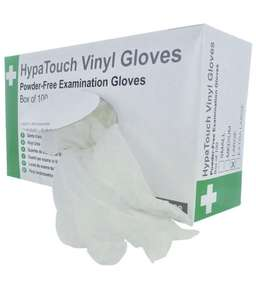 Hypatouch Vinyl Gloves - Powder Free (Pack of 100) Medium £4.75 S&S