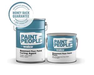 Garage and basement floor epoxy paint 2.5l £14.49 (£5.50 P&P / Free Over £24) @ Paint people
