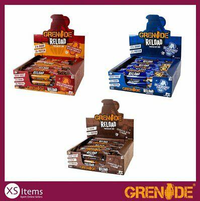 Grenade Reload Protein Oat Bar Pack 12 £16.99 xsitems_ltd eBay