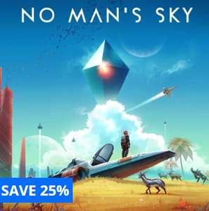 No Man's Sky (PS4) (Download) £17.49 @ PSN
