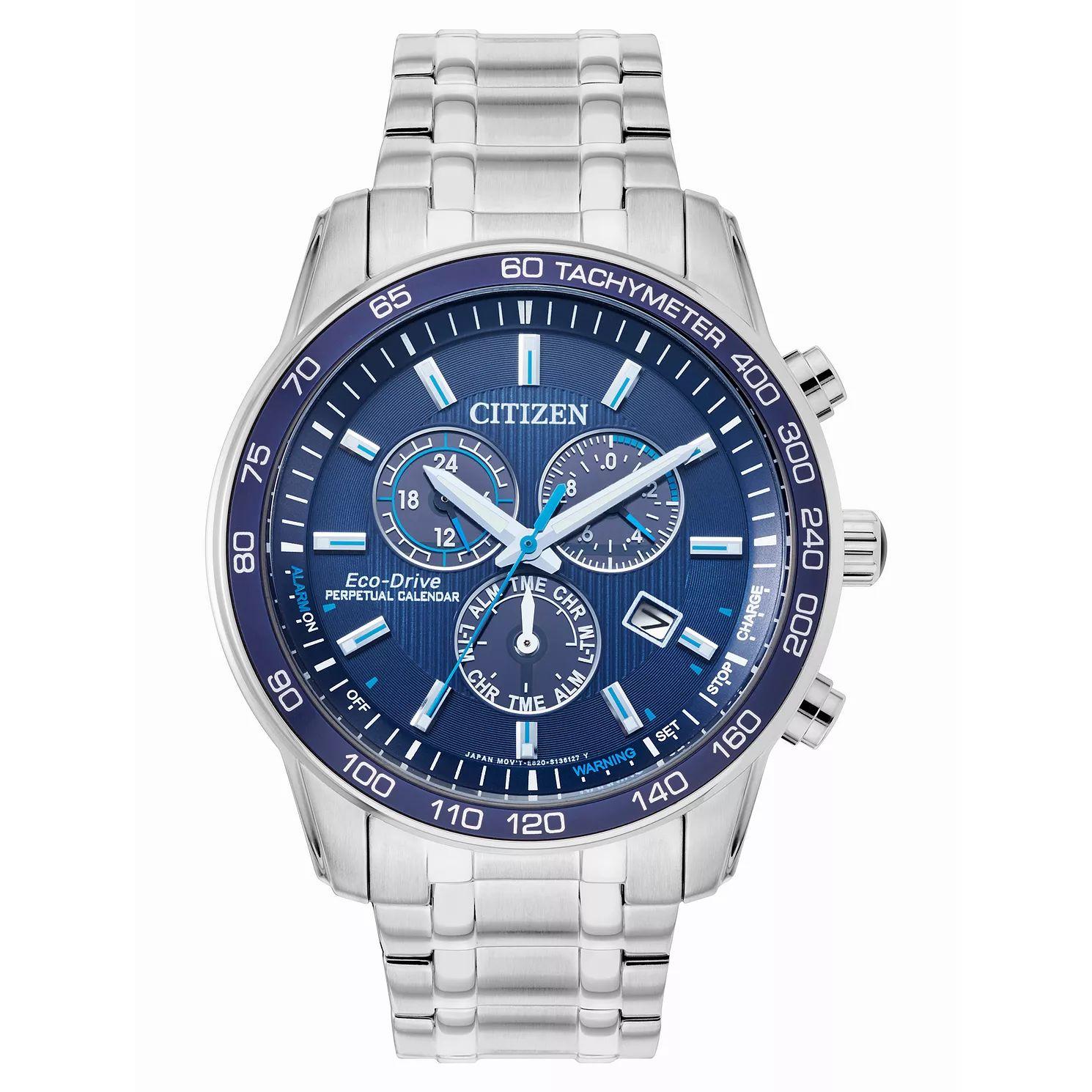 Citizen Eco-Drive Perpetual Calendar Men's Bracelet Watch £169.99 @ H samuel