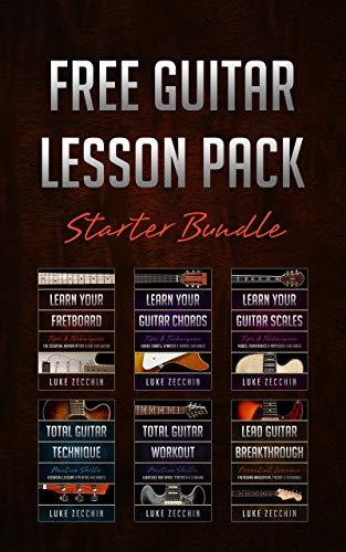 Free Guitar Lesson Pack: Starter Bundle Kindle Ebook @ Amazon
