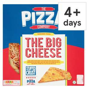 Pizza Company Meal Deal - Buy 2 Pizzas + 2 Sides or Desserts + 1 Dip Stacker for £10 @ Tesco