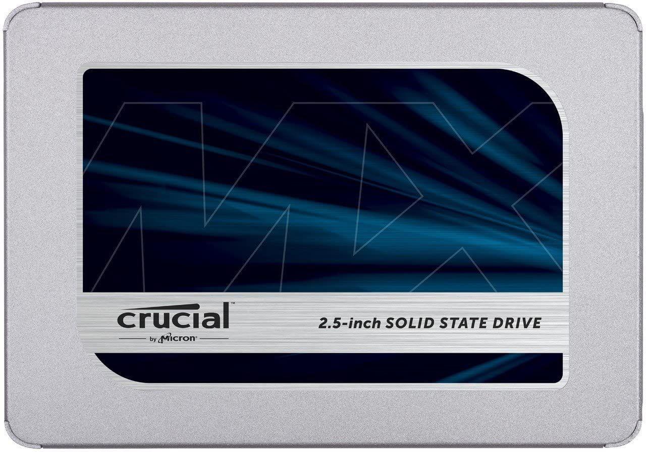 Crucial MX500 CT2000MX500SSD1(Z) 2 TB (3D NAND, SATA, 2.5 Inch, Internal SSD) £194.98 @ Amazon