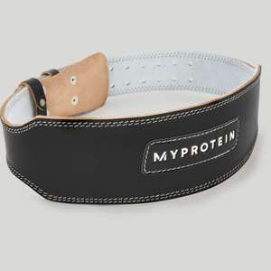 Leather weight Lifting Belt - £10.49 / £14.48 delivered using code @ Myprotein