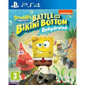 SpongeBob Square Pants Battle For Bikini Bottom Rehydrated PS4 – £20.95 pre-order + free delivery @ The Game Collection
