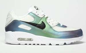 """Nike Air Max 90 """"bubble pack"""" Trainers Now £48 sizes 3, 4, 5, 5.5 older kids / small adult sizes + £3.99 delivery @ Very"""