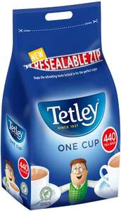 Tetley One Cup 440 tea bags - £4.99 instore @ LIDL, South Ruislip