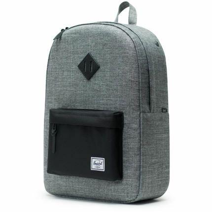 Herschel Heritage Backpack Grey / Black Colourway - £30 delivered @ Wiggle