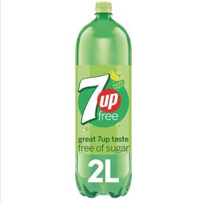7UP Free Lemon and Lime Fizzy Drink - Sugar-Free, 2L - £1 @ Amazon Pantry (£15 min spend and £3.99 delivery)