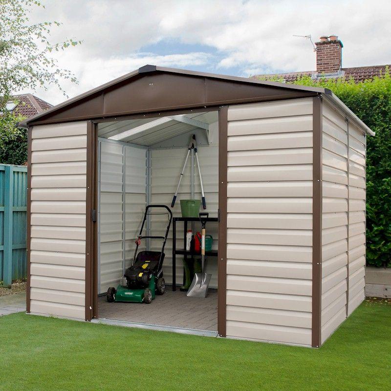 Yardmaster Shiplap Metal Shed 6x10 free delivery no vat - £359 delivered @ One Garden