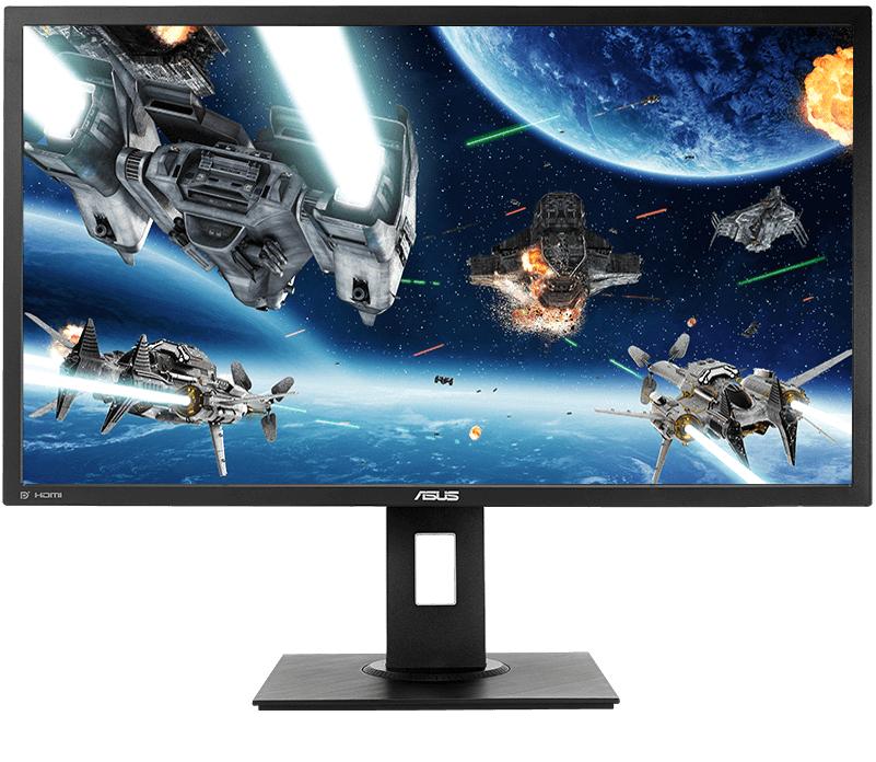 ASUS VP28UQGL, 28 inch 4K(3840x2160) Gaming Monitor, 1ms, DP, HDMI, FreeSync, Ergonomic Design, Low Blue Light - £229 delivered @ Amazon