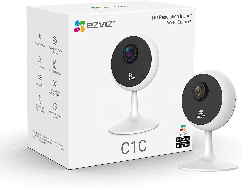 EZVIZ HD Indoor Smart Security Cam C1C Alexa & Google Home Compatible - £19.99 delivered @ Currys PC World