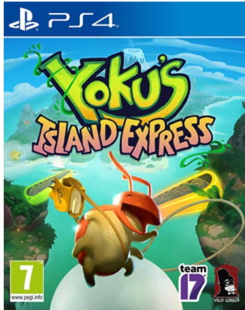 Yoku Island Express – PS4 – £5.85 delivered @ Base.com