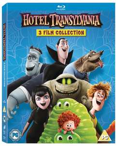 Hotel Transylvania: 3-film Collection (Box Set) [Blu-ray] - £6.99 delivered @ Zoom / eBay