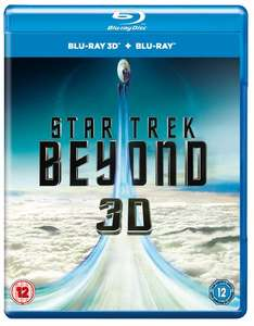 Star Trek Beyond (Blu-Ray 3D Edition with 2D Edition) - £4 Delivered @ Zoom