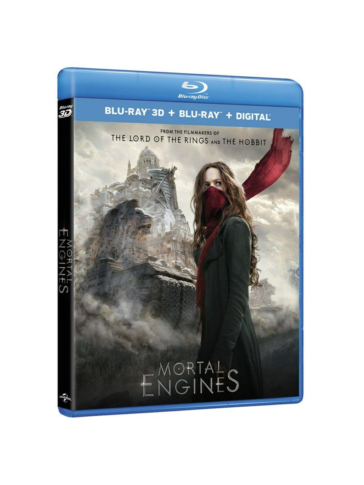 Mortal Engines (3D + 2D) [Blu-ray] – £4 delivered @ Zoom / eBay