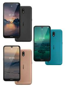 Nokia 1.3 Dual Sim Smartphone 16GB 3 Year Warranty - In Cyan/Sand & Charcoal Colours - £64 delivered @ Nokia Shop