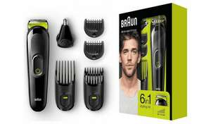 Braun 6 in 1 Beard Trimmer and Hair Clipper Kit £19.99 + £3.95 delivery @ Argos