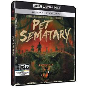 Pet Sematary (30th Anniversary) (4K Ultra HD + Blu-ray) [UHD] £9.99 delivered @ Zoom