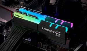 G.Skill Trident Z RGB 32 GB (16GB x 2) DDR4 3200 MHz CL16 - £159.13 @ More Computers