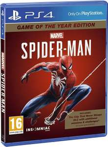 Marvel's Spider-Man Game Of The Year Edition (PS4) - Amazon for £21.99
