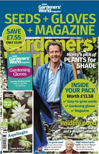 £13.58 of seeds and gardening gloves with £6.99 Gardener's World magazine (via magsdirect)